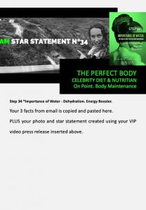 stars and heroes, profiling of character, vip report, step 34