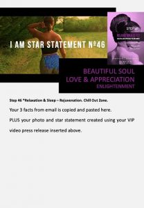 stars and heroes, profiling of character, vip report, step 46